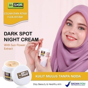 ORIGINAL BHSKIN Dark Spot Night Cream Menyamarkan Flek ...