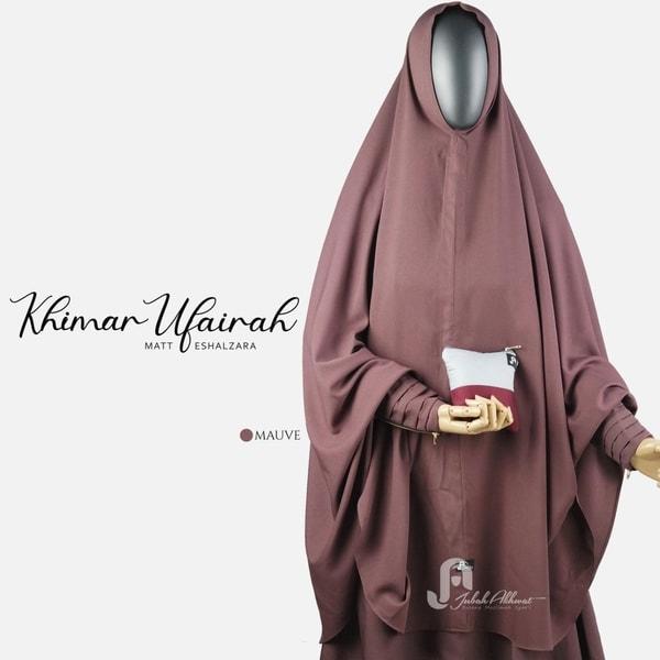 Stelan Akhwat Gamis Syari Niqab French Khimar